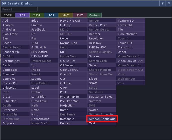 TouchDesignerをResolumeで表示させる: CG日記
